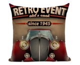 Retro Event Pillow Cover VC9