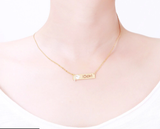 I Did It Gold Necklace