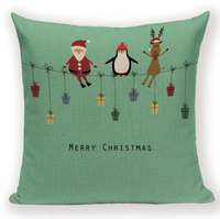 Christmas Presents Pillow Cover X2