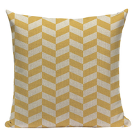 Yellow Pattern Pillow YG7