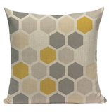 Yellow Pattern Pillow YG9