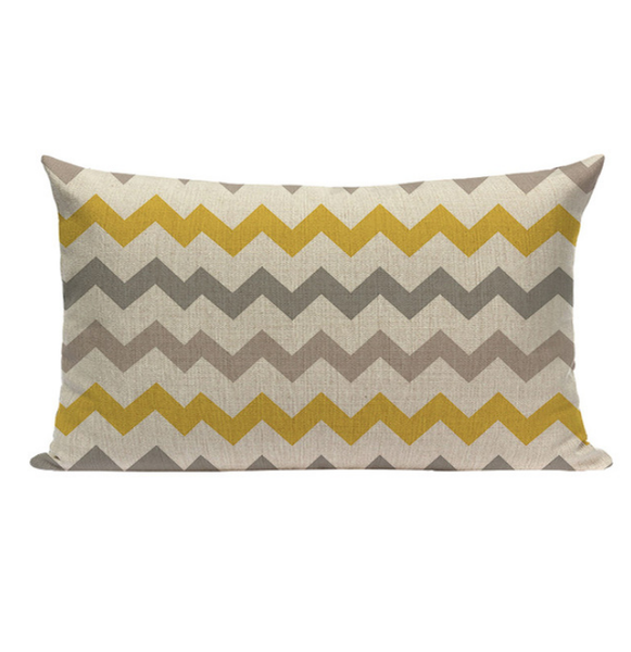 Yellow Pattern Small Pillow YGS1