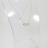 Glasses Gold Necklace