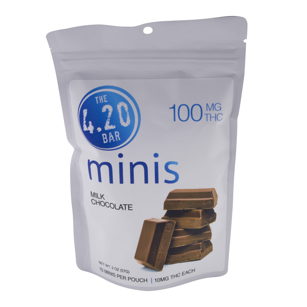 100 Milk Choc Plain MINI