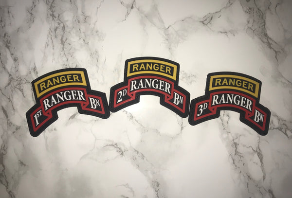 Battalion PVC Patches