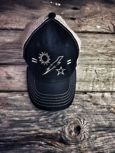 Snap Back •  Sun Bolt Star Cap