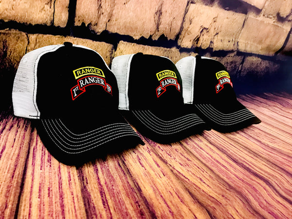 Battalion Tab & Scroll Trucker Hat