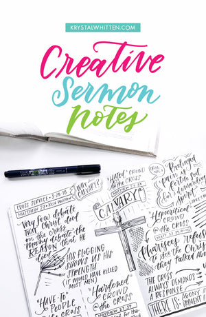Creative Sermon Notes