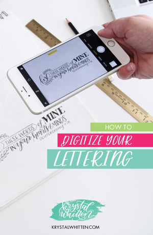 How To Digitize Your Lettering