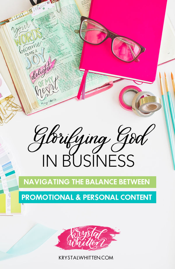 Glorifying God in Business