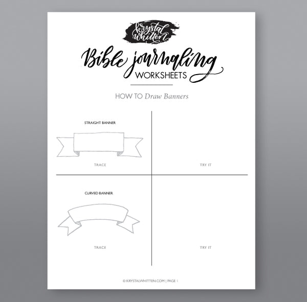simple steps to drawing banners krystal whitten