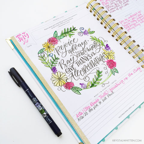 Lettering Prayer Journal | creative lettering