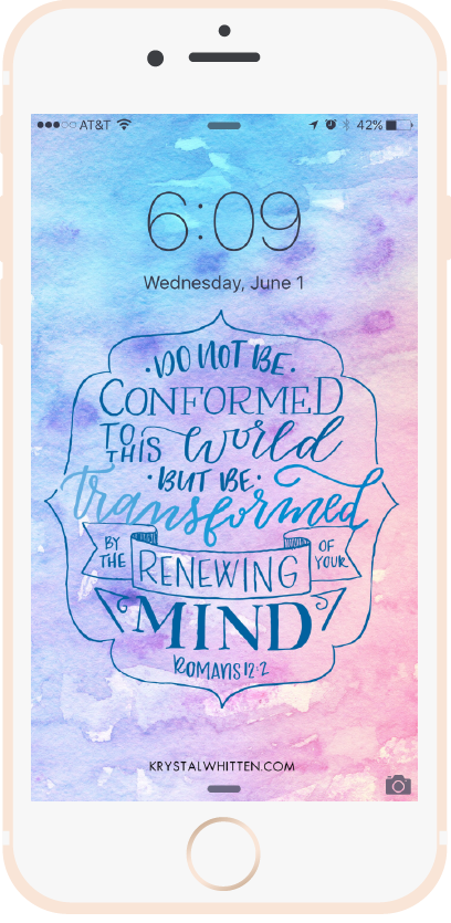 Do Not Be Conformed Lock Screen (6/16)