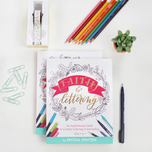 """Faith and Lettering"" book (signed copy)"