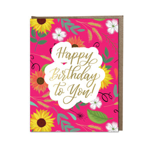"""Happy Birthday to You!"" card"