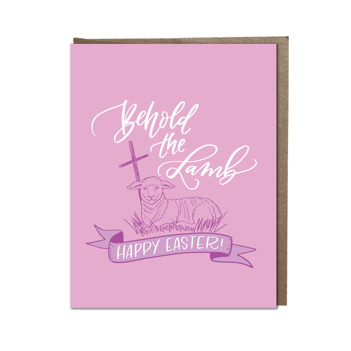 """Behold the Lamb"" card"
