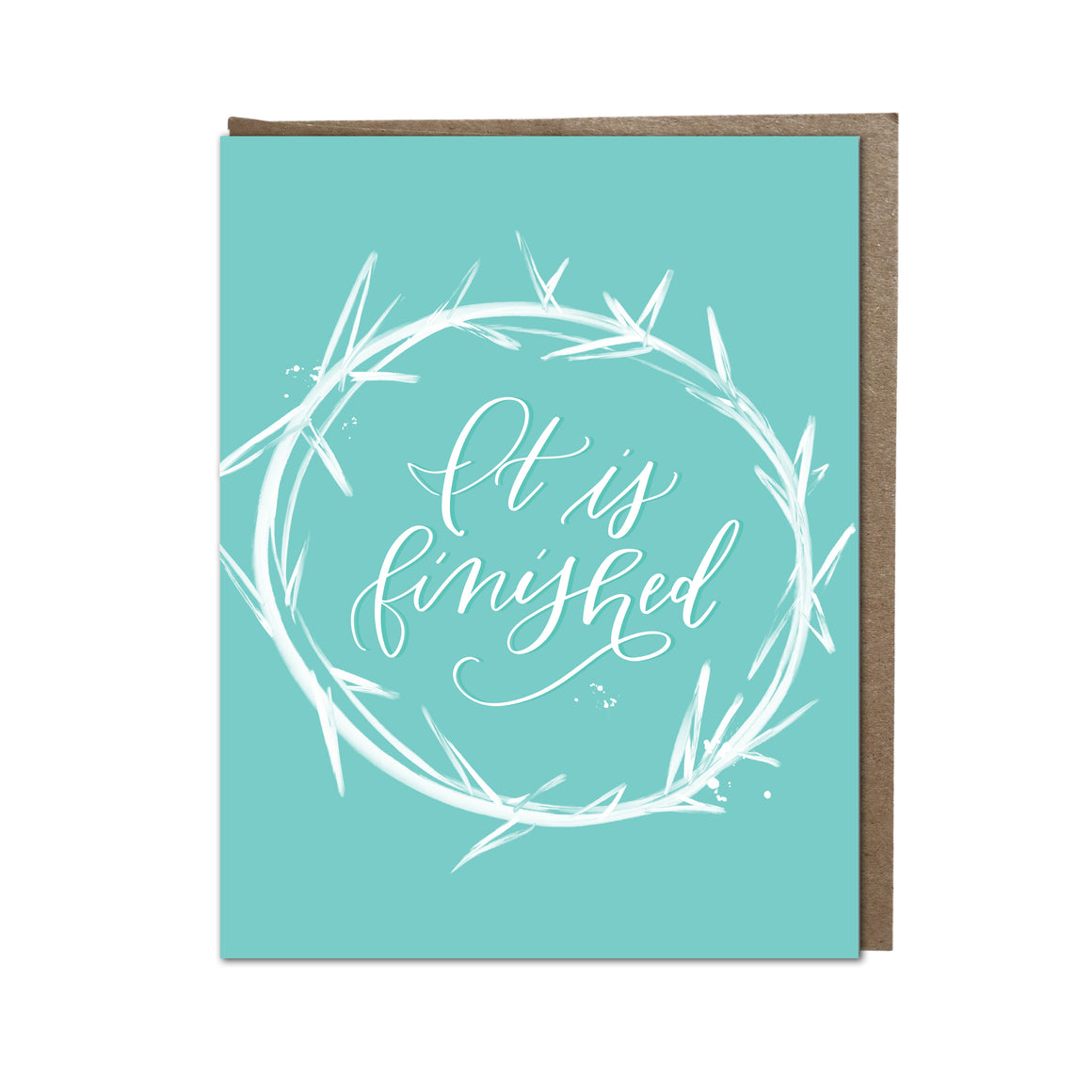 """It Is Finished"" card"