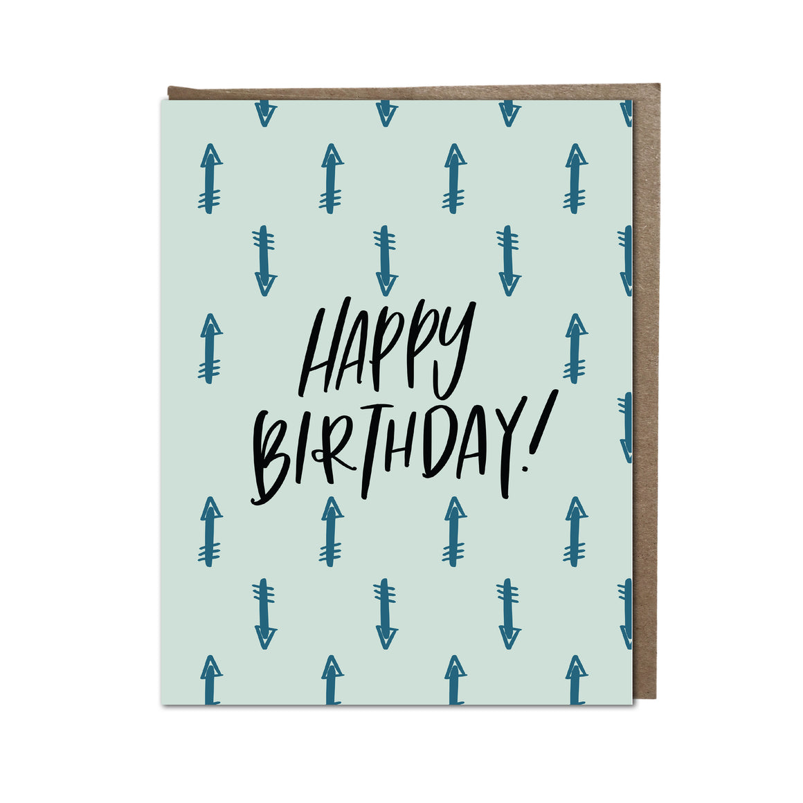 """HBD-Arrows"" card"