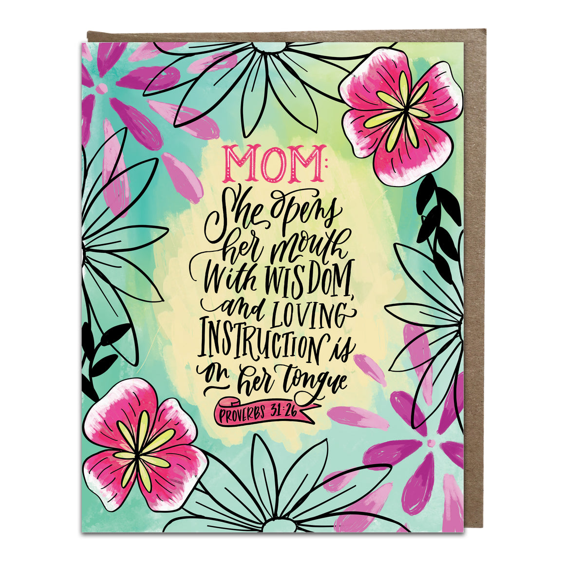 """Loving Instruction"" card"