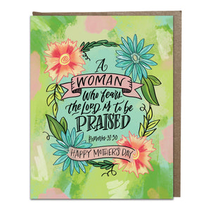 """To Be Praised"" card"