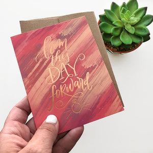 """From This Day Forward"" card"
