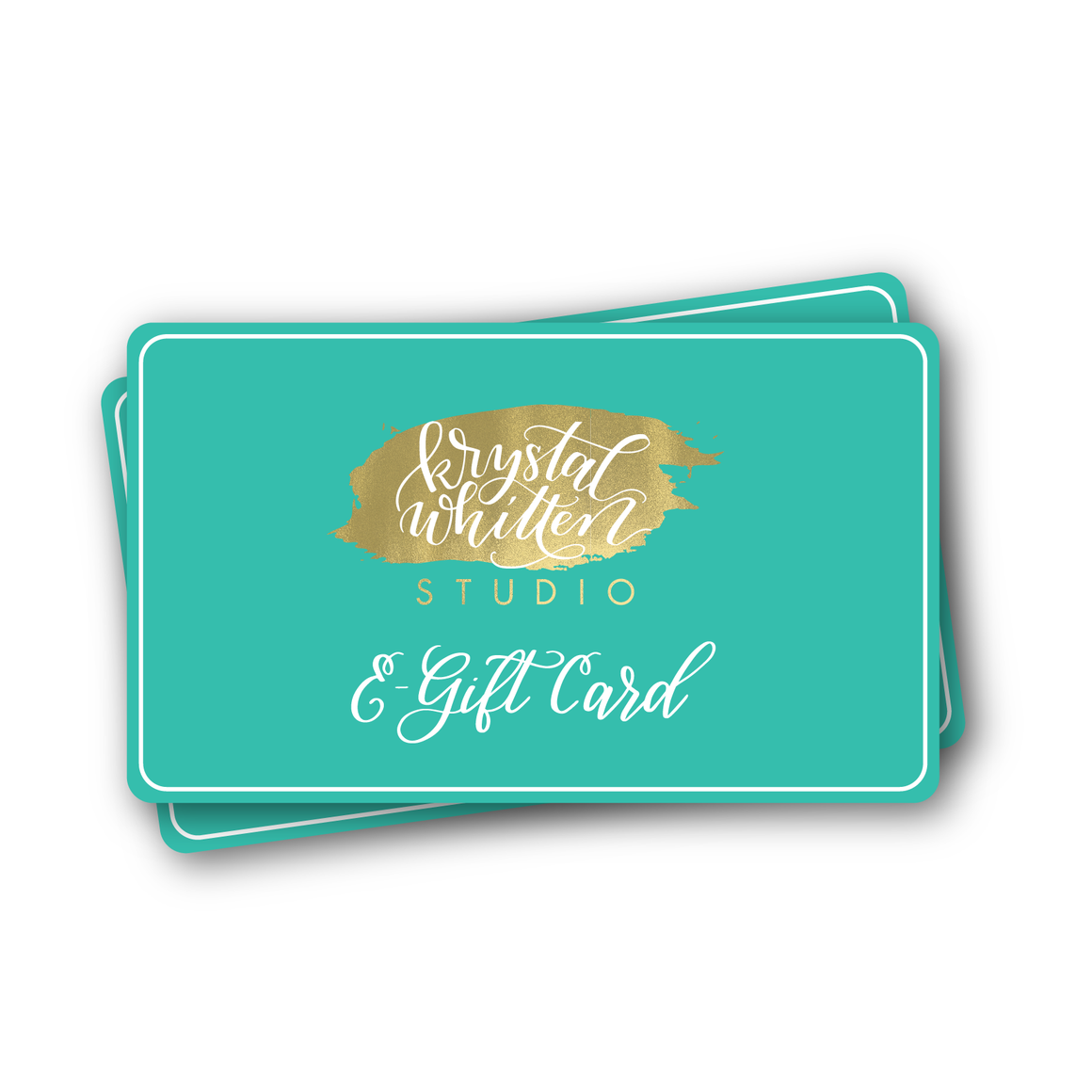 Krystal Whitten Studio Gift Card