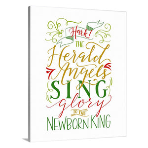 """Hark the Herald Angels Sing"" [art print or canvas]"