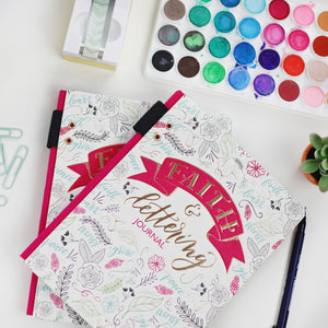 """Faith and Lettering"" Journal"