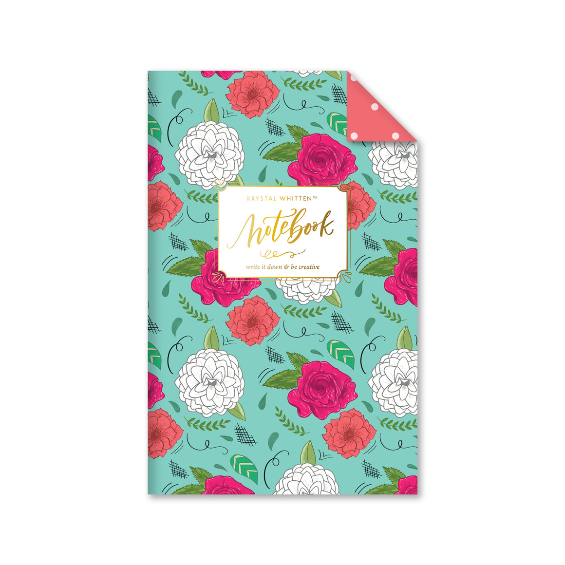 Eden Floral Notebook