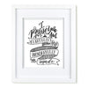 """Fearfully and Wonderfully Made"" scripture art print"