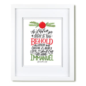 """Immanuel"" [art print or canvas]"