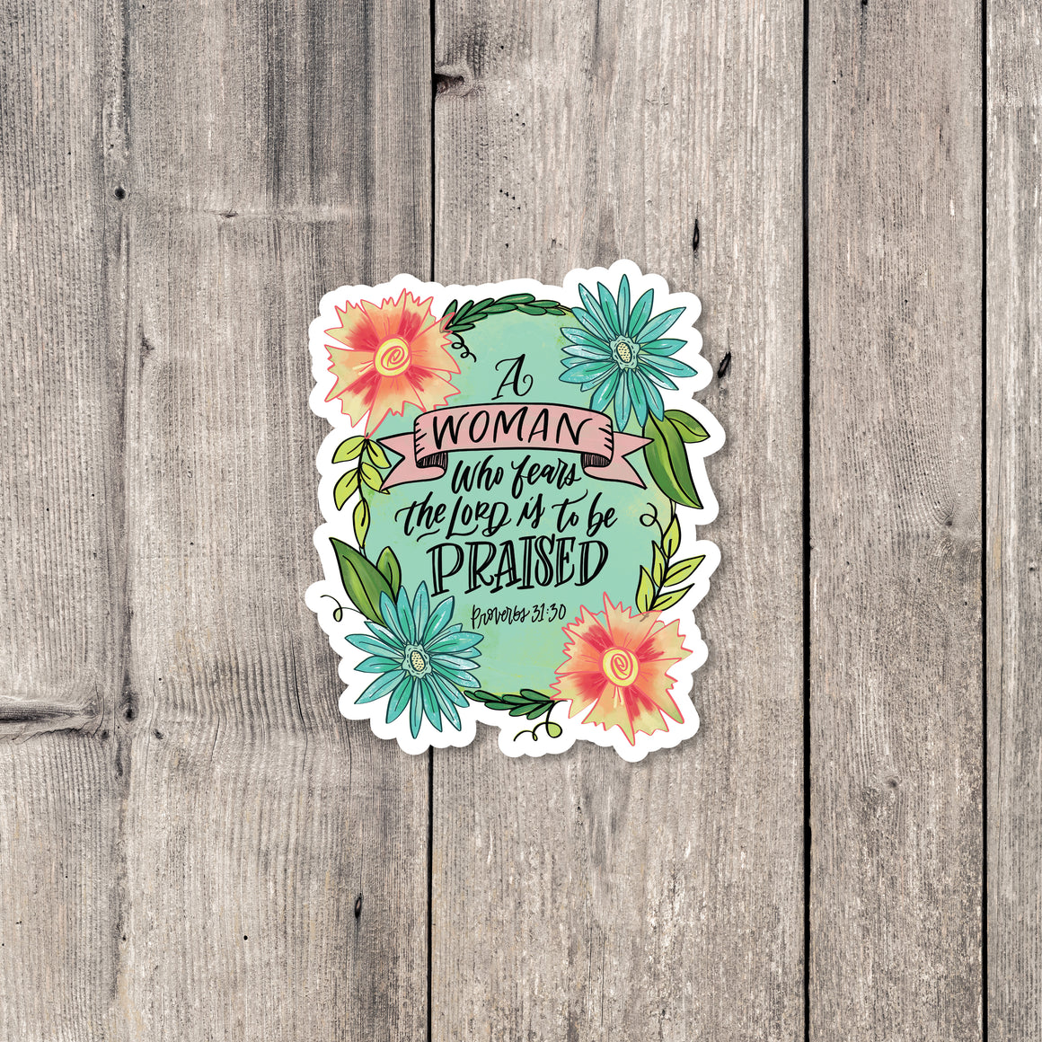 """Praised"" sticker"