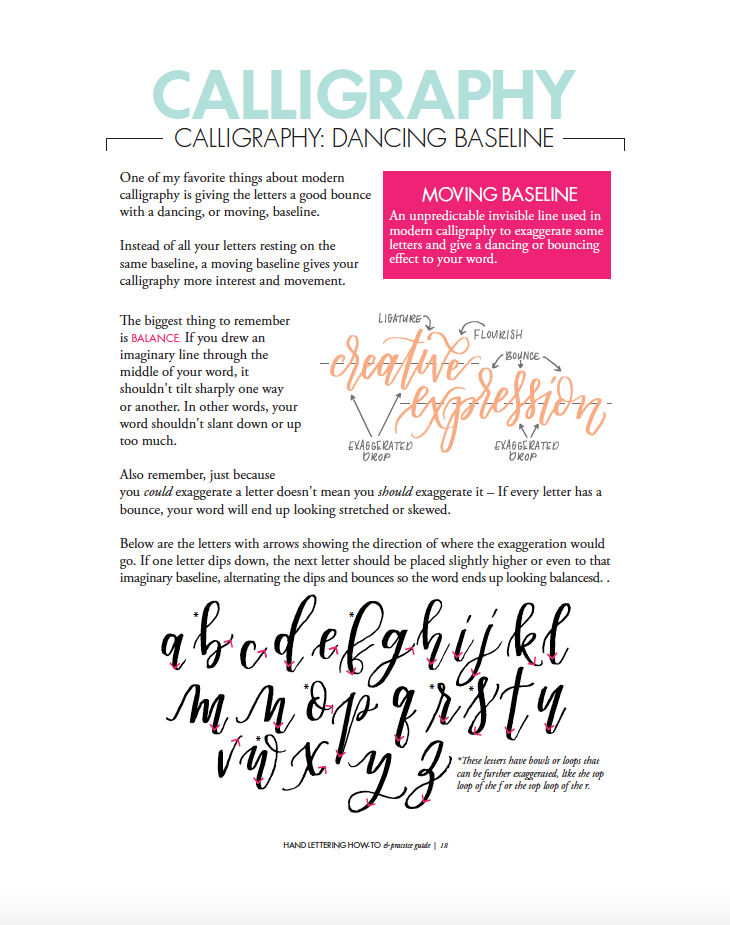 one direction letters hand lettering how to and practice guide krystal whitten