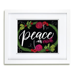 """Peace on Earth""  artwork"