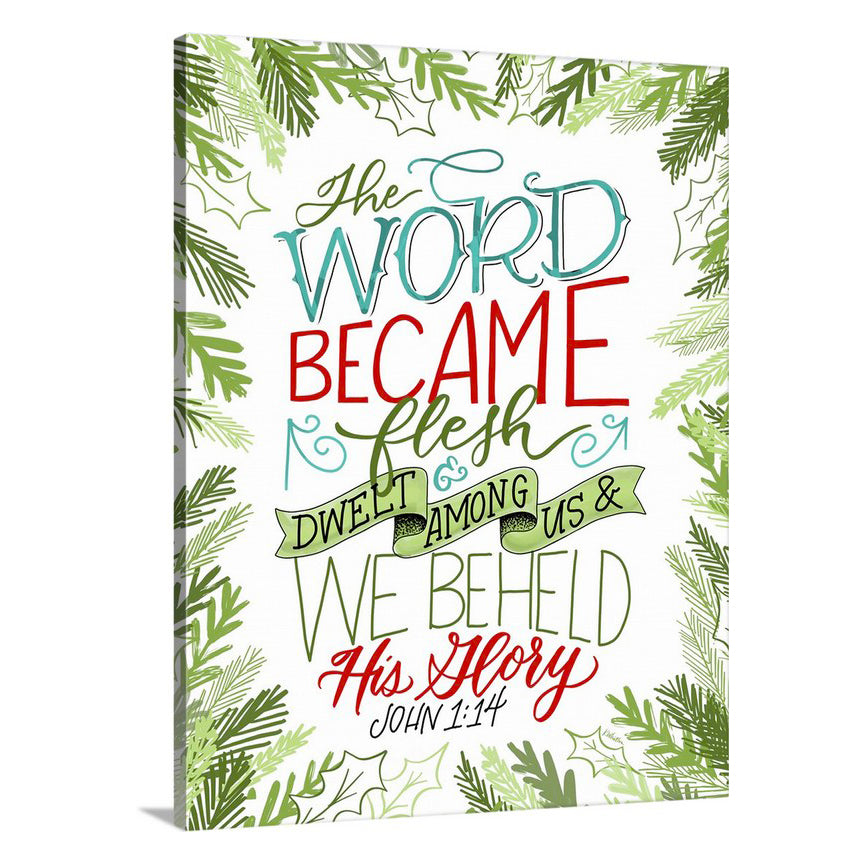 """The Word became Flesh"" [art print or canvas]"