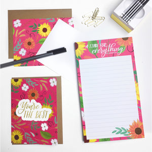 """Cultivate Floral"" Gift Set (You're the Best)"