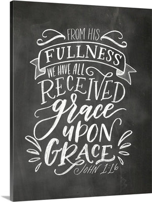 """Grace Upon Grace "" art print"