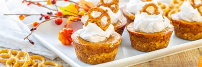 Gluten-Free Maple Pumpkin Pie with a Pretzel Crust