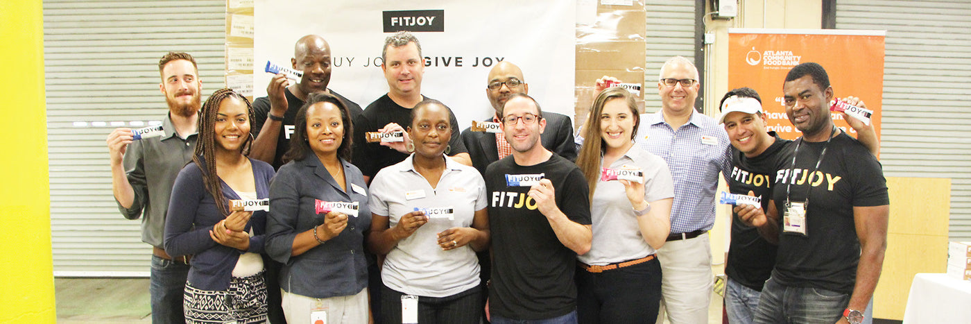 Giving Joy: Donating FitJoy to Hungry Kids Around The Country