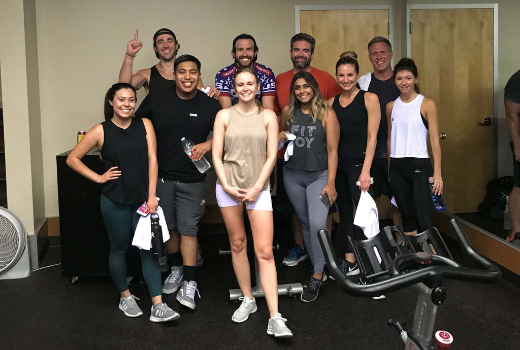 fitjoy team cycling class