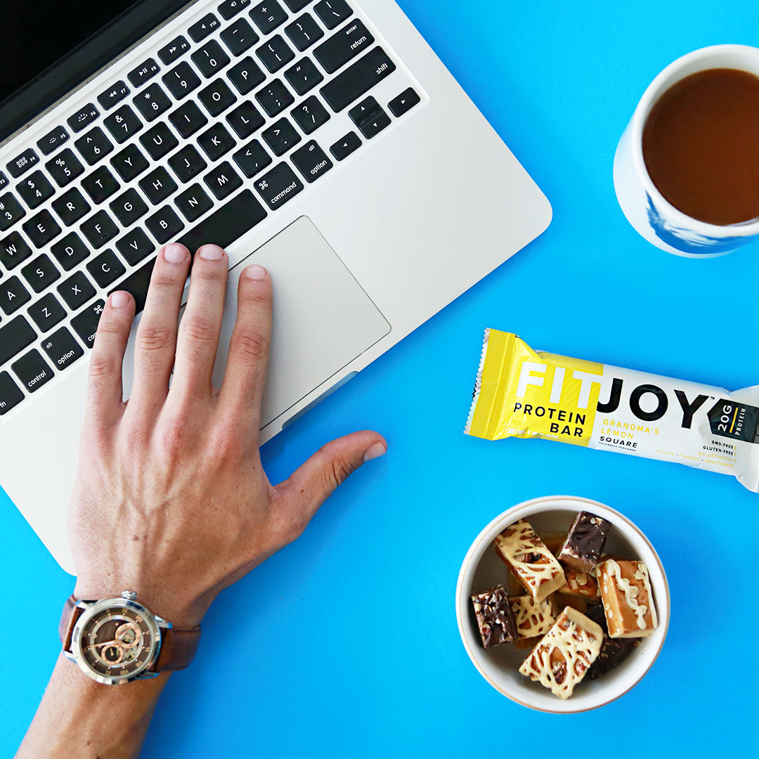 FitJoy Grandma's Lemon Square Protein Bar