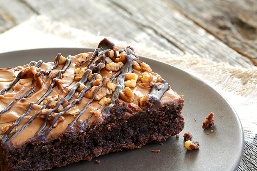 nut butter brownie