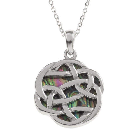 BellaMira Celtic Infinity Knot Necklace
