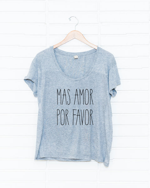 Mas Amor, Por Favor! (Women's)