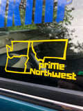 Northwest States Vinyl Sticker