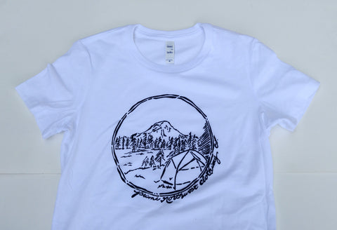 Women's Rainier/camp t-shirt