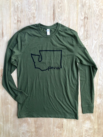 Long sleeve WA shirt
