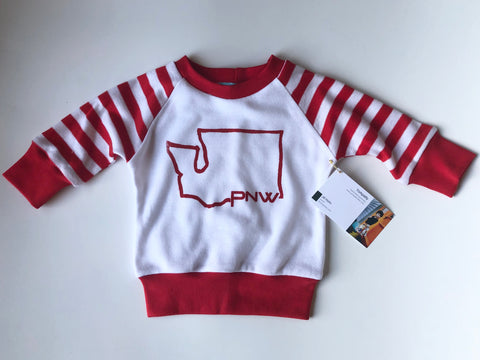 PNW Washington baby shirt