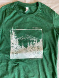 Mt Adams women t-shirt - oops print