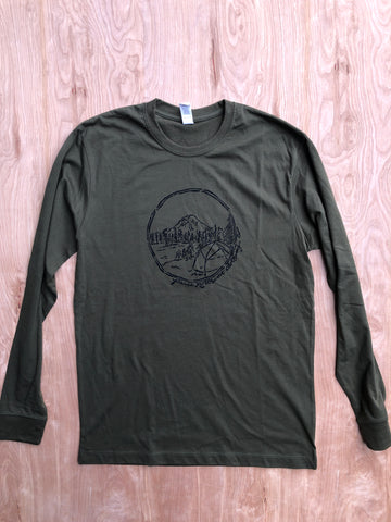 Long sleeve Rainier shirt